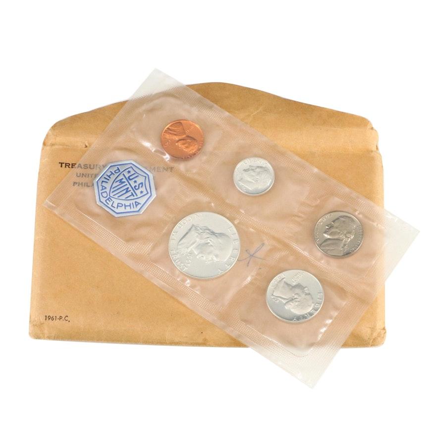 1961 U.S. Mint Silver Proof Set