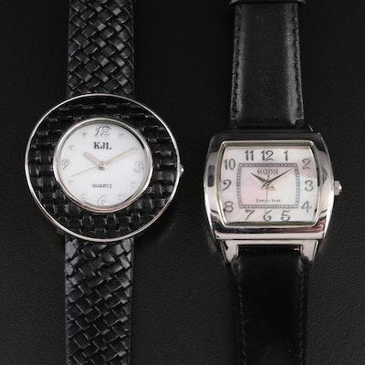 KJL & Ecclissi Quartz Wristwatches
