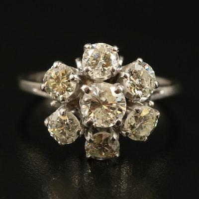 14K 2.08 CTW Diamond Tiered Ring