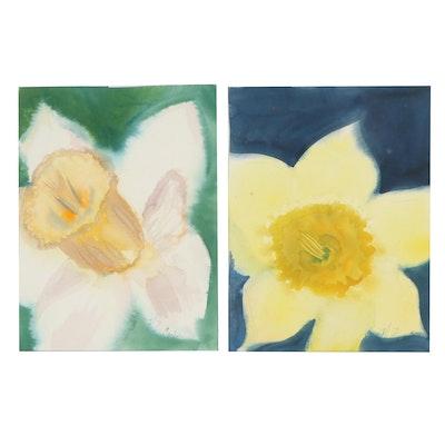 Kathleen Zimbicki Floral Watercolor Paintings