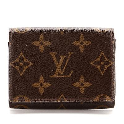 Louis Vuitton Envelope Business Card Holder in Monogram Canvas