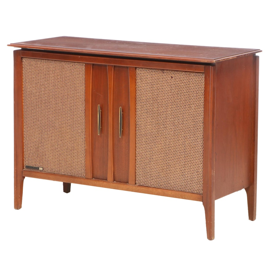 RCA Victor Victrola Turntable Console Cabinet, Mid-20th Century