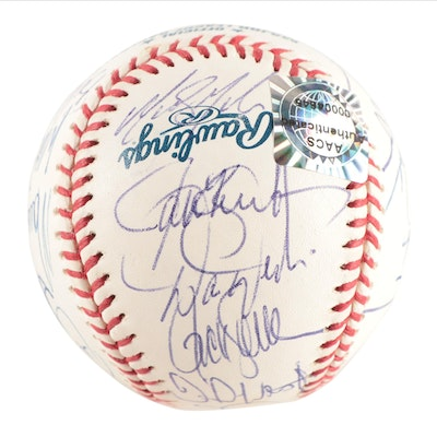 New York Mets Autographed Baseball, Late 20th Century
