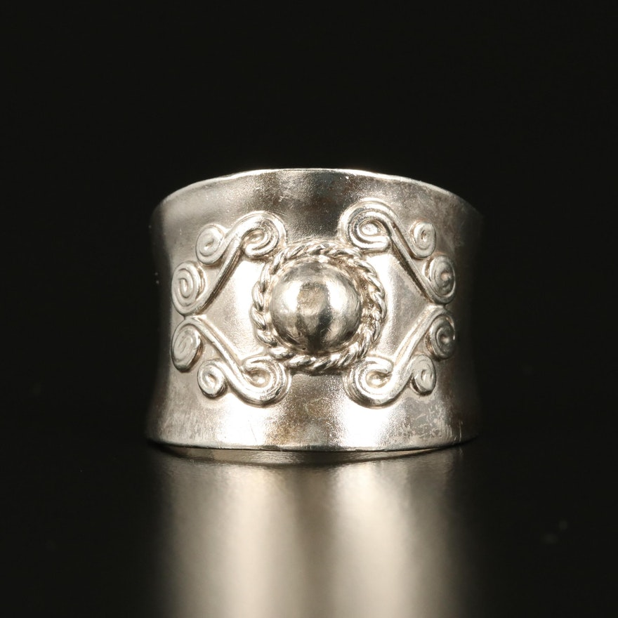 Sterling Saddle Ring