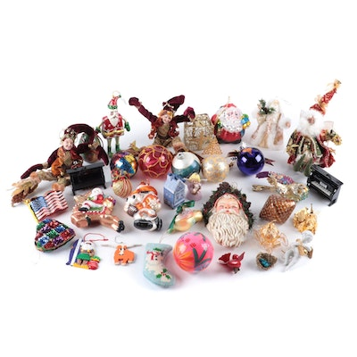 Goebel, Danbury Mint, Silvestri and Other Holiday Ornaments and Decor