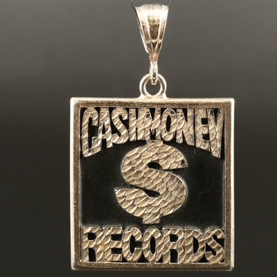 """Cashmoney Records"" Pendant"