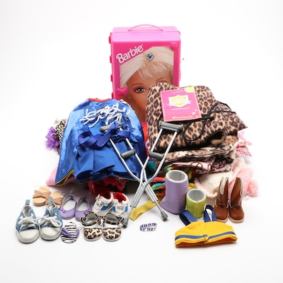 American Girl and Barbie Clothing and Accessory Assortment