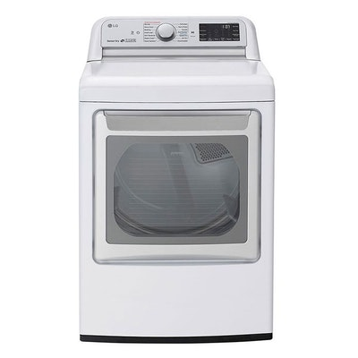 LG 7.3 Cu. Ft. Smart Wi-Fi Enabled Electric Dryer with TurboSteam™