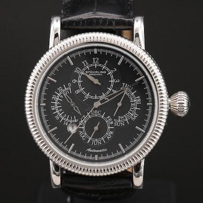 Stührling Original Automatic Stainless Steel Wristwatch