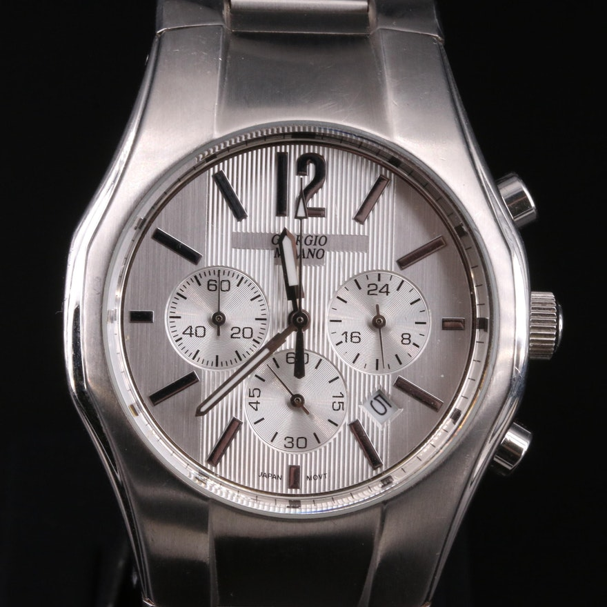 Giorgio Milano Chronograph Wristwatch