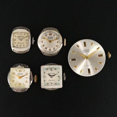 Gruen Veri - Thin and Precision Watch Movements