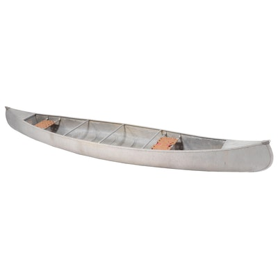 Sears Roebuck 61047 Aluminium Canoe, 1973