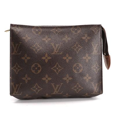 Louis Vuitton Toiletries Pochette in Monogram Canvas and Vachetta Leather