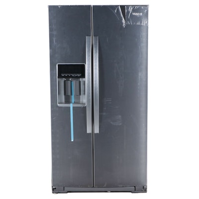 Whirlpool 21 Cu. Ft. Counter Depth Stainless Steel Side-by-Side Refrigerator