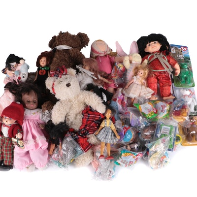 TY Beanie Baby, Xavier Roberts, Boyds and Others Doll Collection