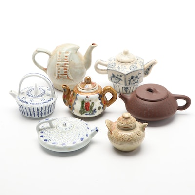 Chinese Yixing Style and Other Ceramic Teapots