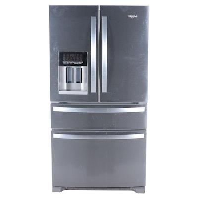 Whirlpool 24.5 Cu. Ft. Stainless Steel Four-Door French Door Refrigerator