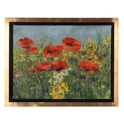 """Garncarek Aleksander Oil Painting """"Maczki,"""" 2021"""