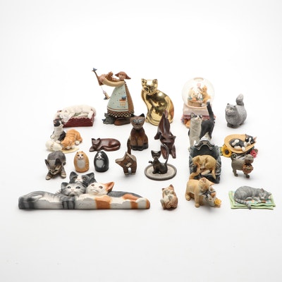 Williraye Studio, Country Artists, and Other Cat Figurines
