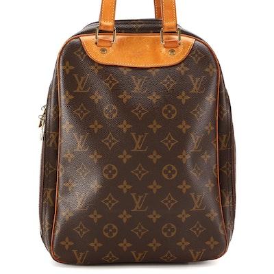 Louis Vuitton Excursion Shoe Bag in Monogram Canvas and Vachetta Leather