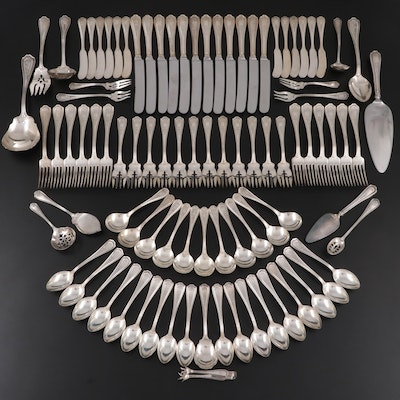 """Reed & Barton """"Hepplewhite-Chased"""" Sterling Silver Flatware"""