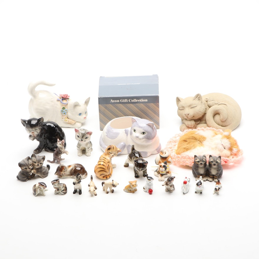 The Harvey Knox Collection with Others Cat Figurines and Décor