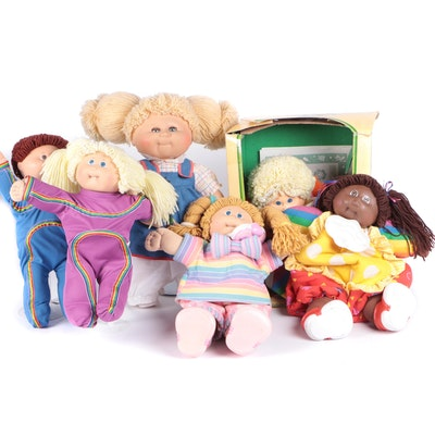 Coleco and Xavier Roberts Cabbage Patch Kids Dolls, 1985