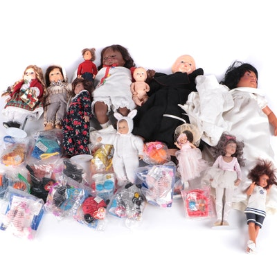 Dolls Including Vintage Composition, Bisque, Ty and Others