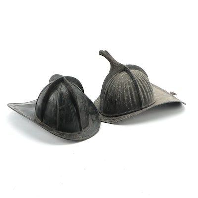 United States Firefighter's Helmets, Late 19th to Early 20th Century