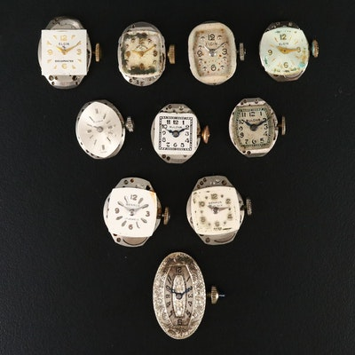 Collection of American Watch Company Movements