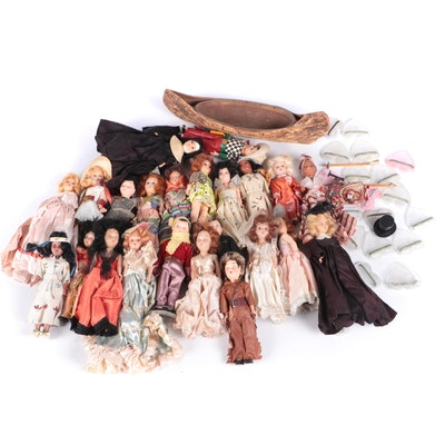 Travel Dolls Including Accessories