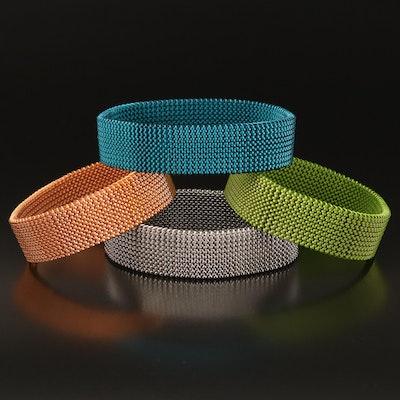 Multi-Color Expandable Bracelets