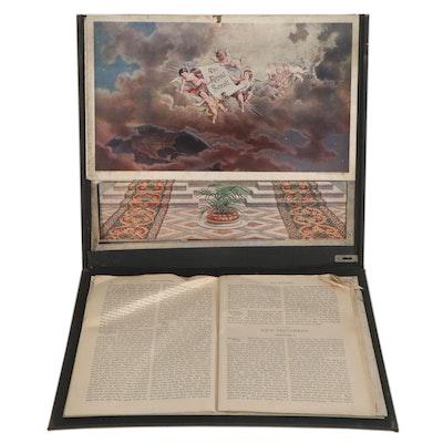 """The Royal Scroll"" Foldout Bible Study Display, 1896"