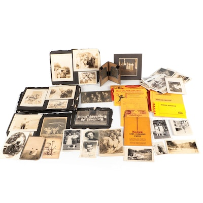 Portrait Photographs and Postcards, Late 19th to Mid-20th Century