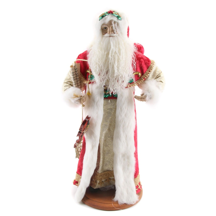 Lynn Haney Collection Christmas Santa Figurine, 1996