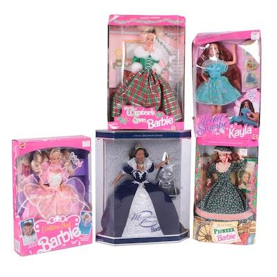 Barbie Collection Including Millennium Princess