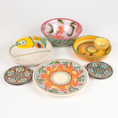 Droll Designs, Italian Ceramic and Other Tableware
