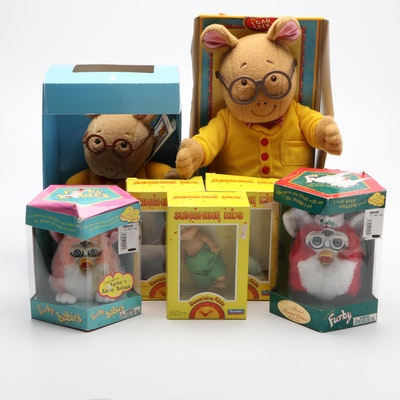 Furby, Arthur, and Sunshine Kids Limited Edition Dolls and Accessories