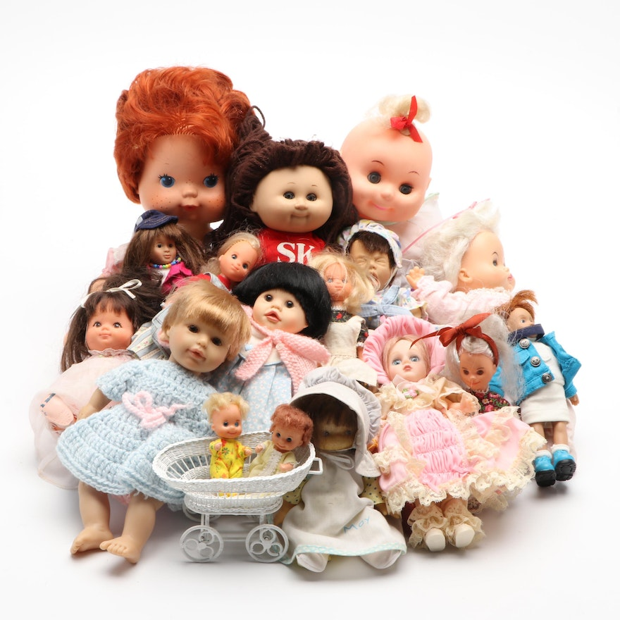 Sleep-Eye Dolls, Cabbage Patch and Others