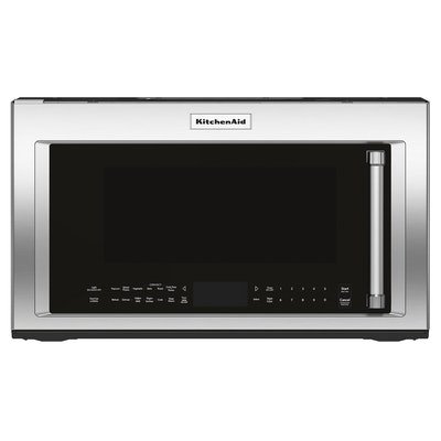 KitchenAid 1.9 Cu. Ft. Stainless Steel Convection Over-the-Range Microwave