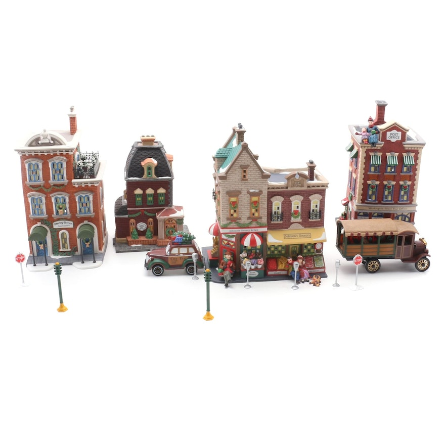 """Department 56 Heritage Village Collection """"Christmas in the City"""" Figurines"""