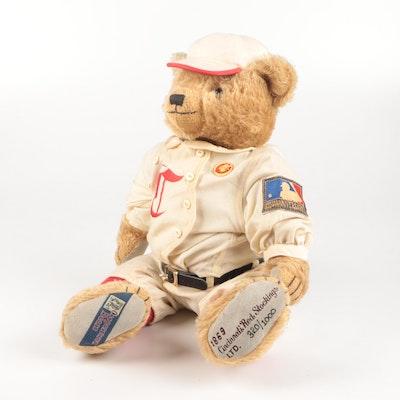 "Limited Edition 125th Anniversary ""Cincinnati Red Stockings"" Teddy Bear"