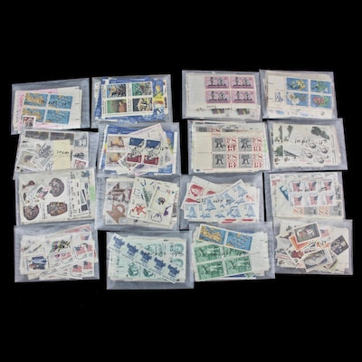 Mint Condition U.S. Postage Stamp Collection