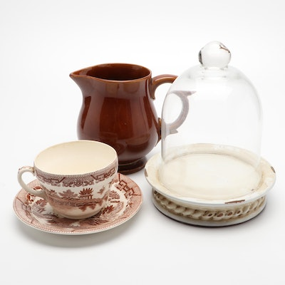 Brown Willow Mocha Cup and Other Tableware