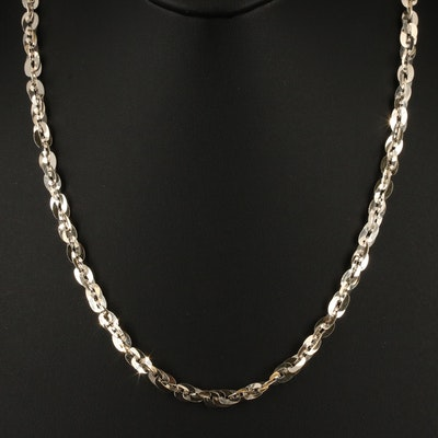 Italian 950 Silver Necklace