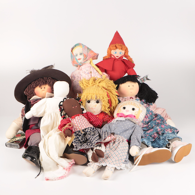 Little Souls and Others Handcrafted Cloth Dolls