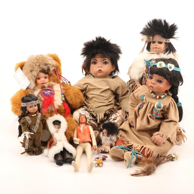 Native American Style Dolls