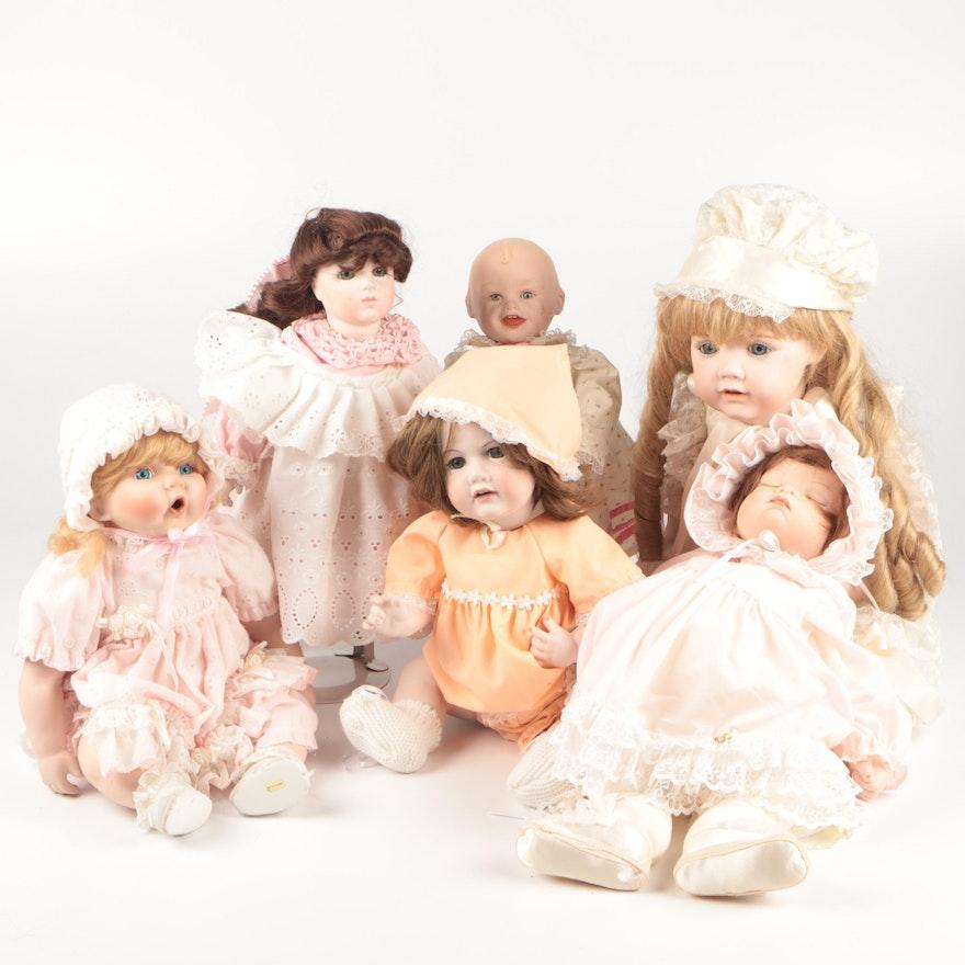 German Dolls and More Including JDK Kestner Doll