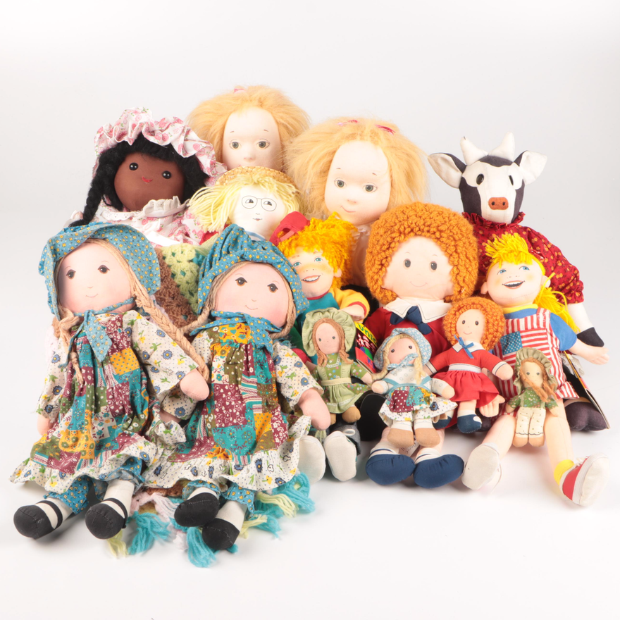 Annie, Eloise, and Other Cloth Dolls