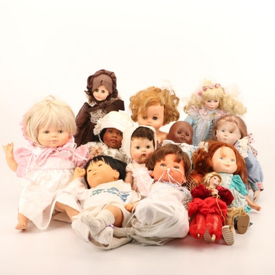 Composition, Modern Composite and Other Dolls